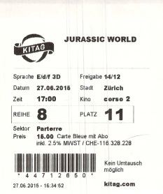 2015 06 27  Jurassic World