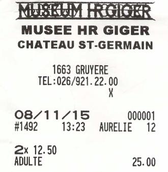 2015 11 08  Museum HG Giger