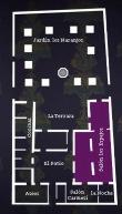 Mapa salon espejos